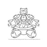 How to Draw Totalizer from Medabots
