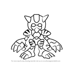 How to Draw Tundle from Medabots
