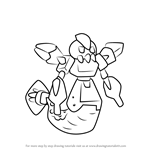 How to Draw Wolfeel from Medabots