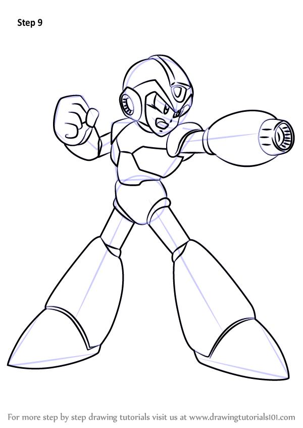 learn how to draw mega man x from mega man zero  mega man
