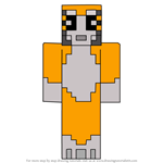 How to Draw Stampylonghead Skin
