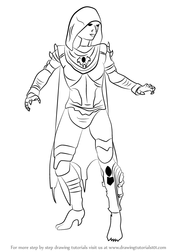 step by step how to draw d vorah from mortal kombat Mortal Kombat 1 step by step how to draw d vorah from mortal kombat drawingtutorials101