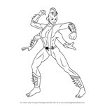 How to Draw Sheeva from Mortal Kombat
