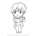 How to Draw Doctor Guest from Mystic Messenger