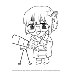 How to Draw Star Guest from Mystic Messenger