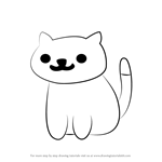 How to Draw Pepper from Neko Atsume