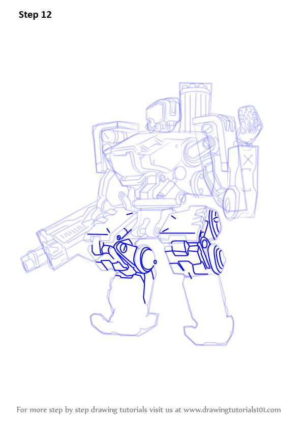 Learn How to Draw Bastion from