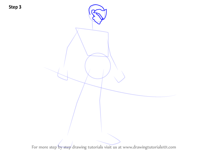 learn how to draw genji from overwatch overwatch step by