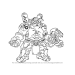 How to Draw Torbjorn from Overwatch