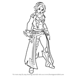 How to Draw Maeve from Paladins