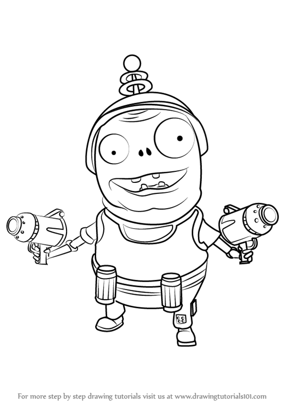pvz garden warfare coloring pages - photo#18