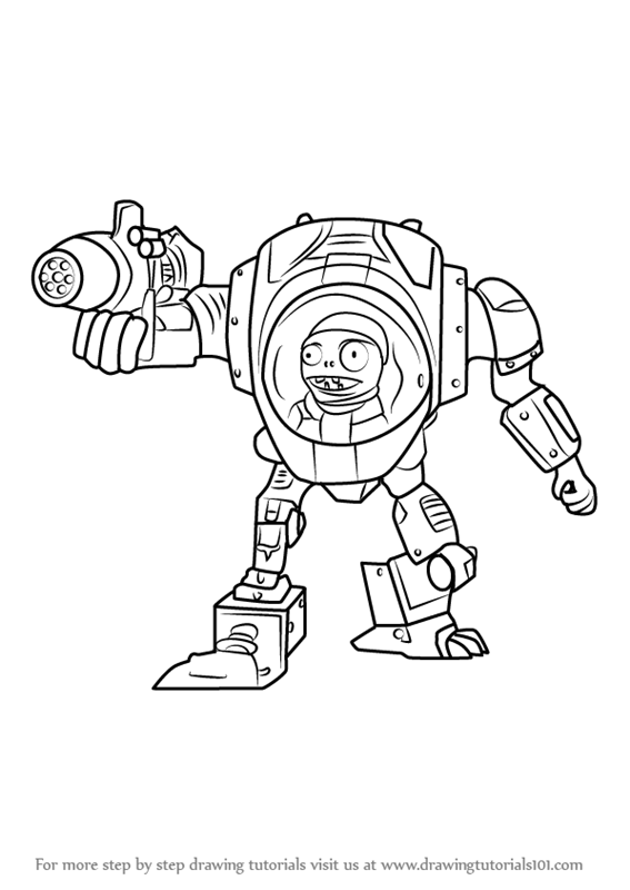 pvz garden warfare coloring pages - photo#5