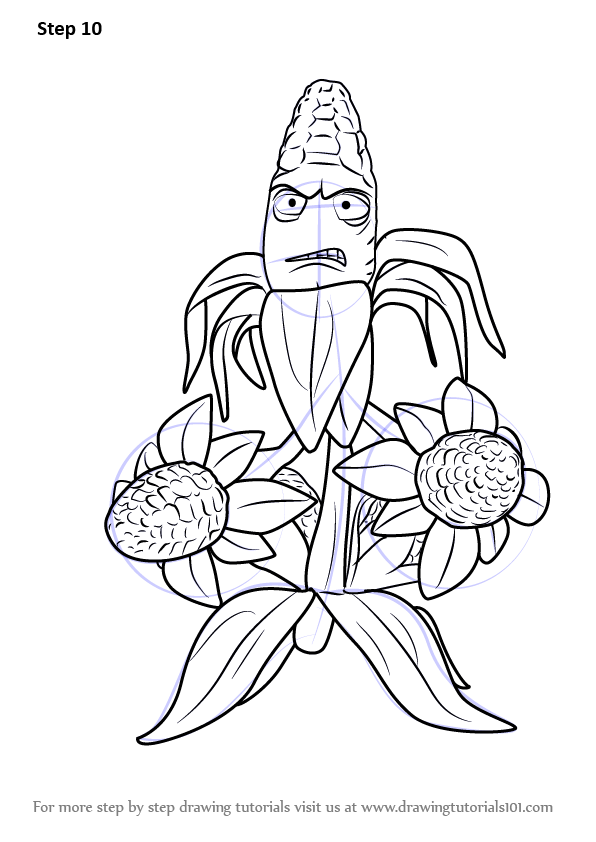 pvz garden warfare coloring pages - photo#14