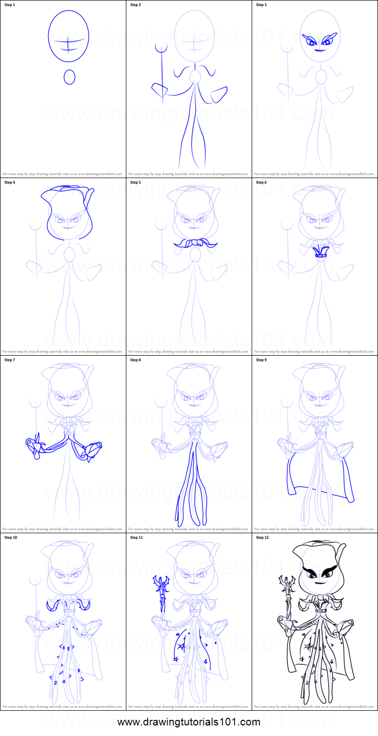 How to draw rose from plants vs zombies garden warfare for How to draw a rose bush step by step