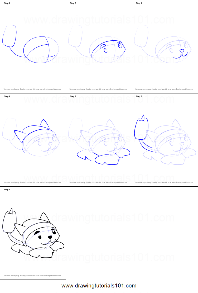 How to draw cattail from plants vs zombies printable step by step how to draw cattail from plants vs zombies printable step by step drawing sheet drawingtutorials101 ccuart Image collections