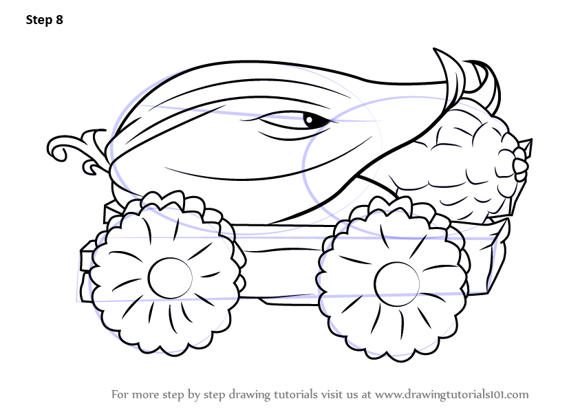 Learn How to Draw Cob Cannon from Plants vs. Zombies ...