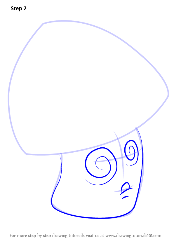 Learn How to Draw Hypno-shroom from Plants vs. Zombies ...