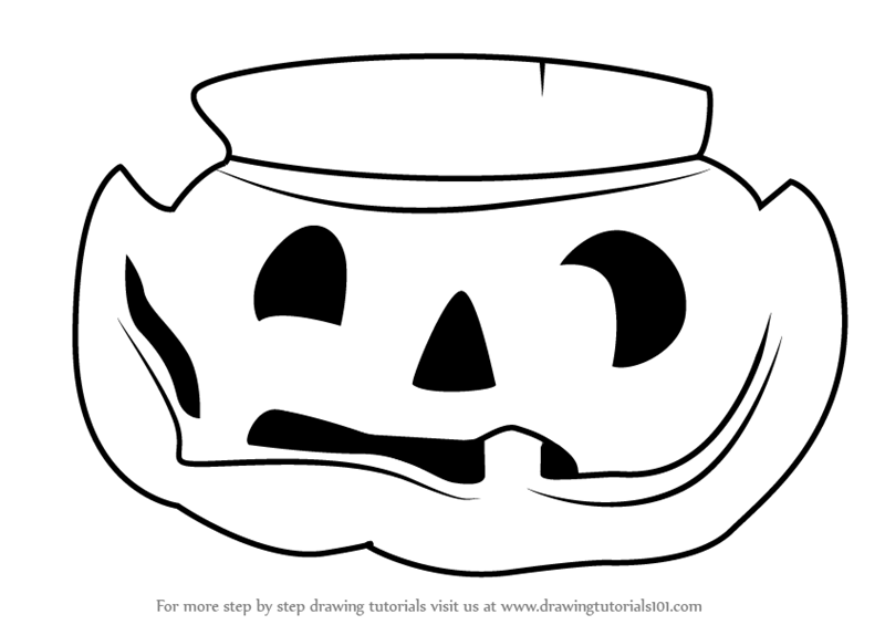 Learn How to Draw Pumpkin from Plants vs. Zombies (Plants ...