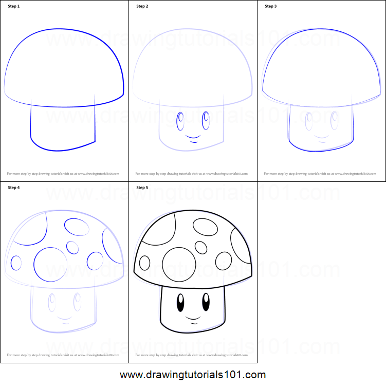 How to Draw Sun-shroom from Plants vs. Zombies printable ...