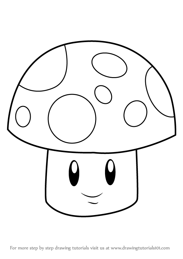 learn how to draw sunshroom from plants vs zombies