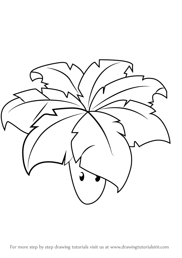 Learn How to Draw Umbrella Leaf from Plants vs Zombies