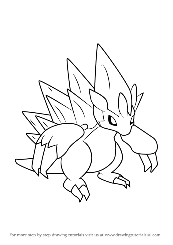 sandslash pokemon coloring pages - photo#14
