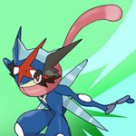 How to Draw Ash-Greninja from Pokemon Sun and Moon