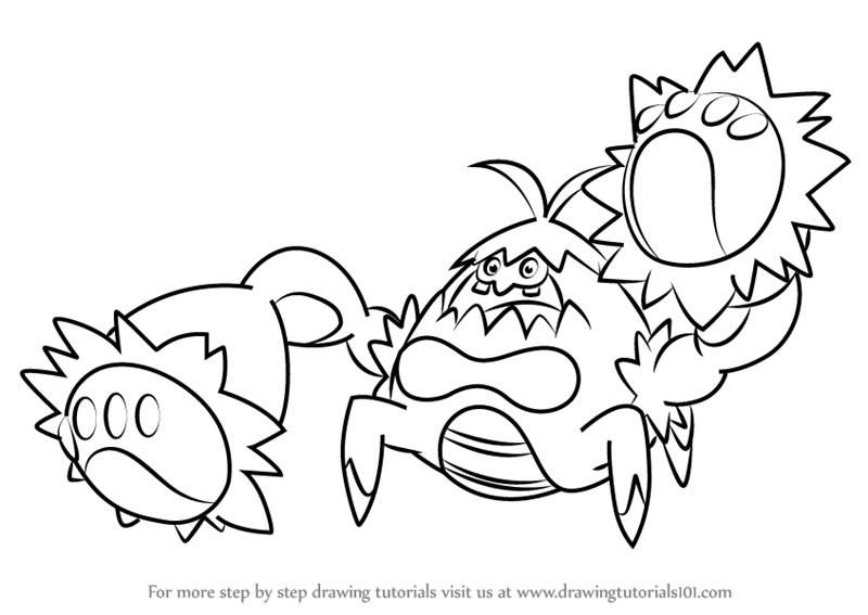 Learn How to Draw Crabominable