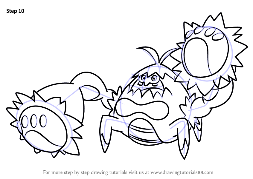 learn how to draw crabominable from pokemon sun and moon pok mon Herbivore Omnivore Decomposer Food Web with the Sun shop related products