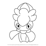 How to Draw Fomantis from Pokemon Sun and Moon