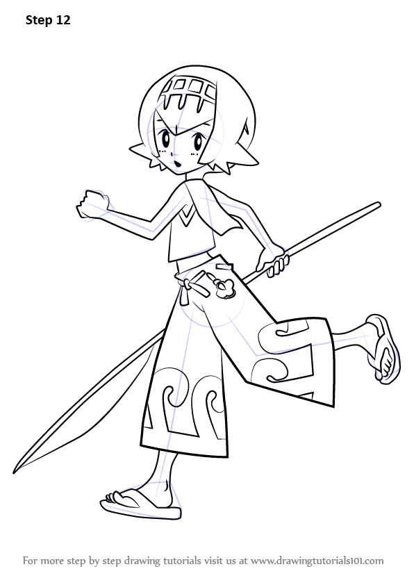 Learn how to draw lana from pokemon sun and moon pok mon for Cosmog coloring pages
