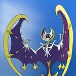 How to Draw Lunala from Pokemon Sun and Moon