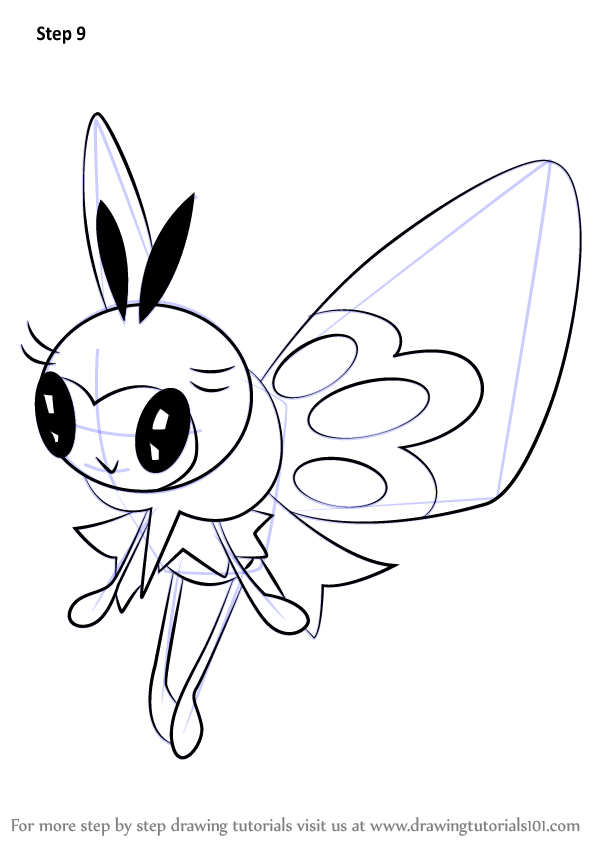 Learn How To Draw Ribombee From Pokemon Sun And Moon