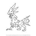 How to Draw Silvally from Pokemon Sun and Moon