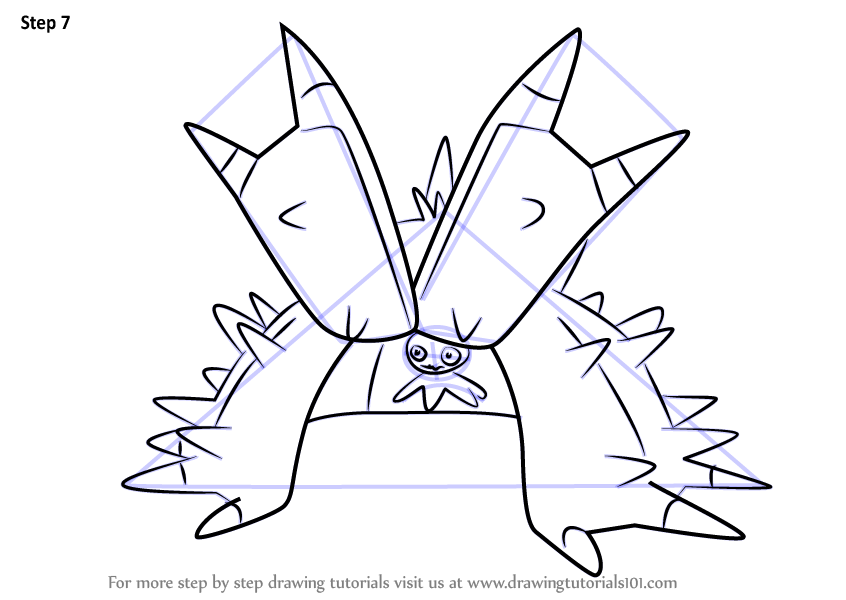 Learn How to Draw Toxapex from