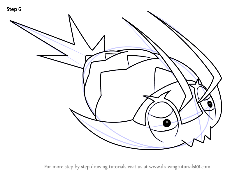 Learn How To Draw Wimpod From Pokemon Sun And Moon