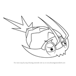 How to Draw Wimpod from Pokemon Sun and Moon