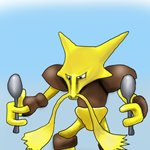 How to Draw Alakazam from Pokemon GO