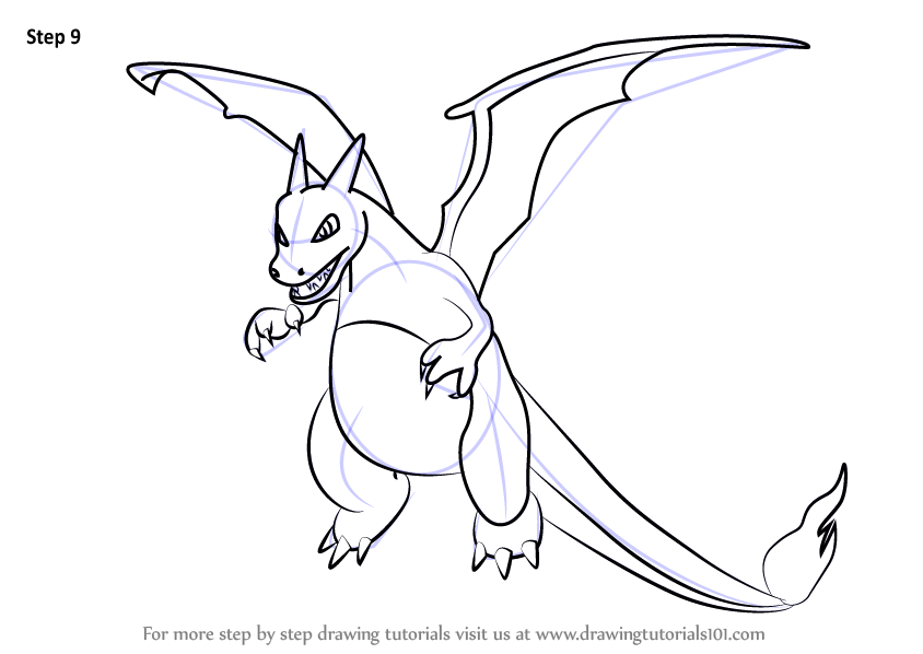 How To Draw Pokemon Charizard