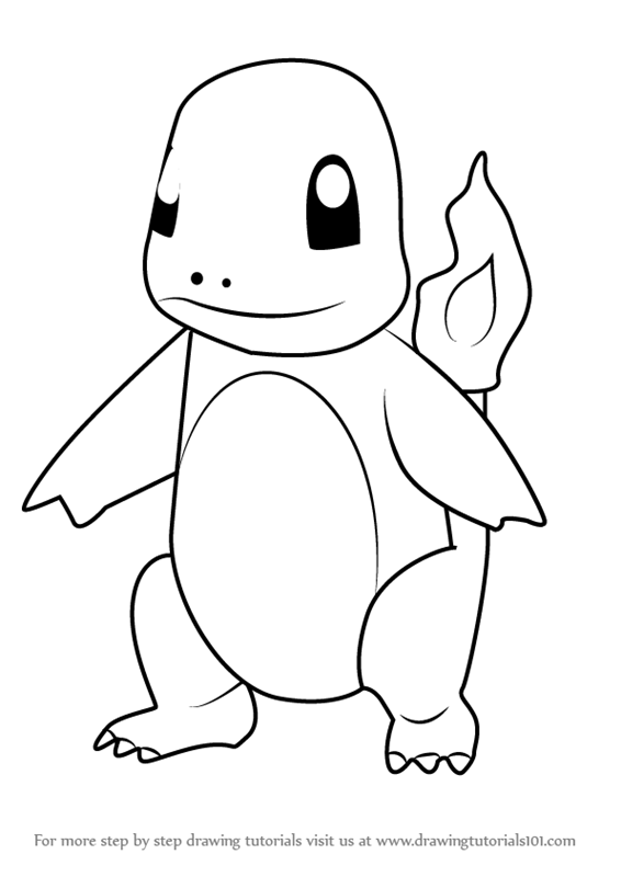 Learn How to Draw Charmander from