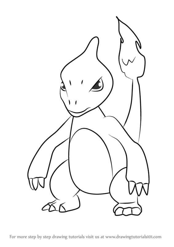 Learn How to Draw Charmeleon from