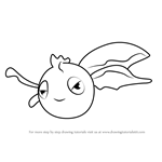 How to Draw Goldeen from Pokemon GO