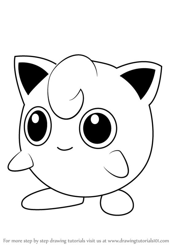 Learn How to Draw Jigglypuff from