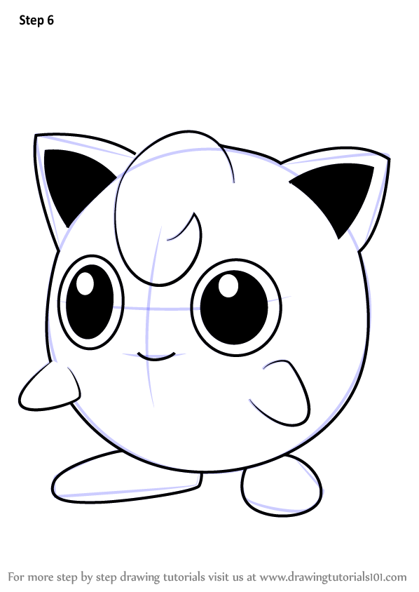 Learn How To Draw Jigglypuff From Pokemon Go Pokemon Go