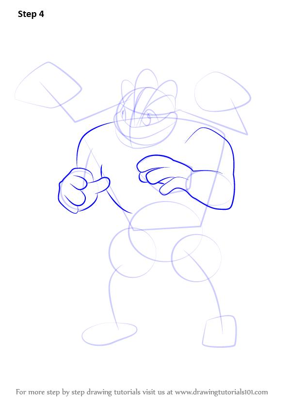 Learn How To Draw Machamp From Pokemon Go Pokemon Go