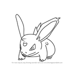 How to Draw Nidoran Male from Pokemon GO