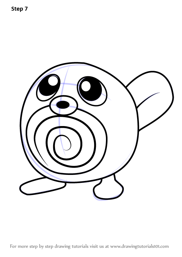 pokemon poliwag coloring pages - photo#13