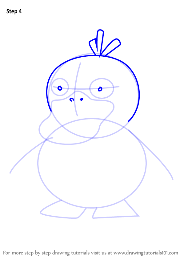 Step by Step How to Draw Psyduck from Pokemon GO ...