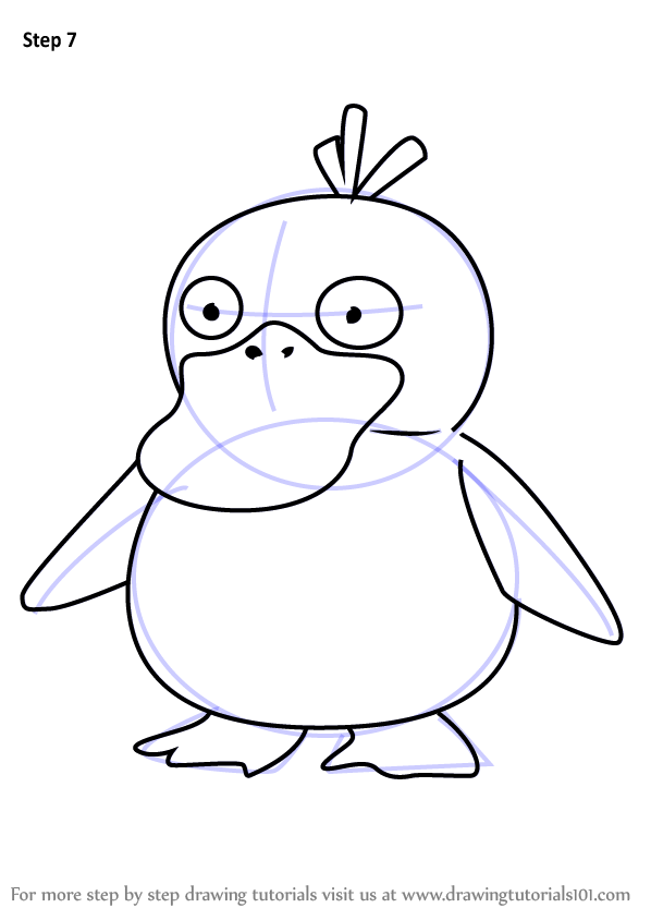 Learn How to Draw Psyduck from