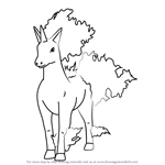How to Draw Rapidash from Pokemon GO